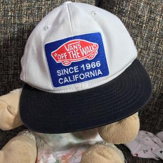 ヴァンズ(VANS)のvans バンズ バイカラー  キャップ ワッペン(帽子)