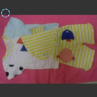 sense of wonder - お魚Tシャツとパンツのセット