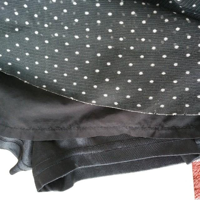 MPS(エムピーエス)のキュロット スカート ドット 110 キッズ/ベビー/マタニティのキッズ服女の子用(90cm~)(スカート)の商品写真