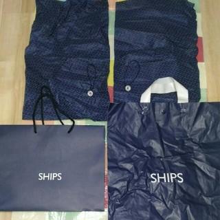 シップス(SHIPS)の☆SHIPS ショップバック4枚 ボタン付ゴム2個(ショップ袋)
