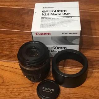 Canon - 美品! Canon EF-S 60mm f/2.8 Macro USM