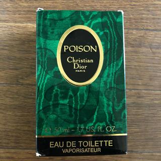 クリスチャンディオール(Christian Dior)のDior  POISON 50ml(香水(女性用))
