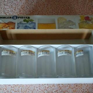 トウヨウササキガラス(東洋佐々木ガラス)の硝子コップセット(グラス/カップ)