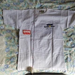 スズキ(スズキ)のスズキxモリワキ NTT 1993年 鈴鹿8耐 Tシャツ ステッカー付 新品(Tシャツ/カットソー(半袖/袖なし))