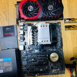 エイスース(ASUS)のOC仕様 ゲーミングPC ヘッドセット付き(デスクトップ型PC)