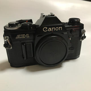 キヤノン(Canon)の超完動美品 人気の CANON AE-1  ブラックボディ(フィルムカメラ)