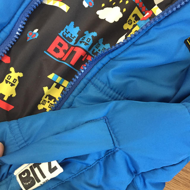 Bit'z(ビッツ)のbit's ジャンバー 120 キッズ/ベビー/マタニティのキッズ服男の子用(90cm~)(ジャケット/上着)の商品写真