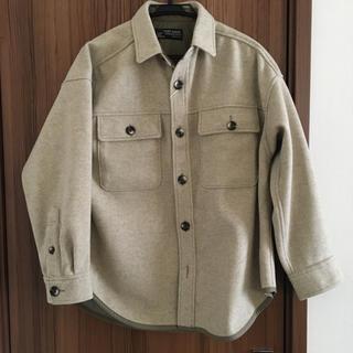 キューブシュガー(CUBE SUGAR)のキューブシュガー フラノジャージ ビッグシャツ(シャツ/ブラウス(長袖/七分))