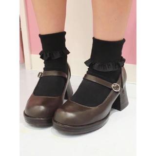アンジェリックプリティー(Angelic Pretty)のQueen bee ロリータ靴 ブラウン(ハイヒール/パンプス)
