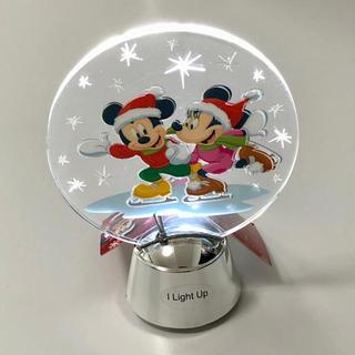 ディズニー(Disney)の【ライトアップ☆】ミッキー ミニー LED クリスマス飾り ディズニー スケート(その他)