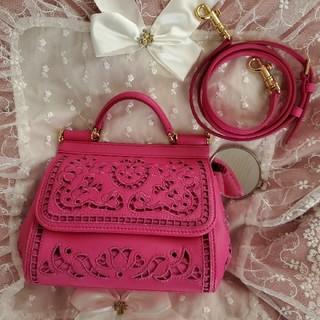 ドルチェアンドガッバーナ(DOLCE&GABBANA)のDOLCE&GABBANA 斜め掛けが可愛いバッグ(ハンドバッグ)