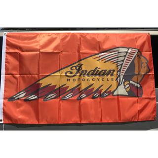 Harley Davidson - インディアン 特大バナー ムーンアイズ ハーレー ショベル ガレージ アメリカ