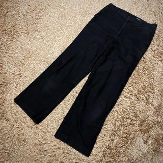 マーガレットハウエル(MARGARET HOWELL)の値下げ交渉OK マーガレットハウエル 綿 パンツ Mサイズ ブラック(カジュアルパンツ)