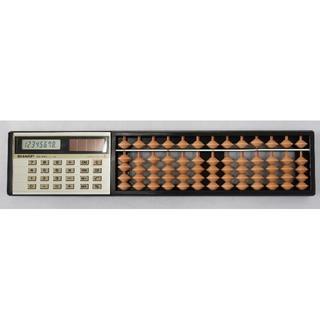 シャープ(SHARP)のシャープ 電卓付そろばん ELSI MATE EL-429(OA機器)