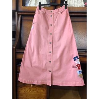 ピンクハウス(PINK HOUSE)のピンクハウス★ Aライン ロングスカート(ロングスカート)