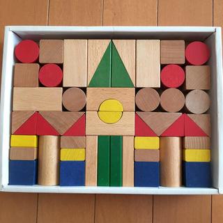 ルルアイランド・ジャパン 木製ブロック 55ピース(積み木/ブロック)