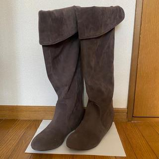 トランテアンソンドゥモード(31 Sons de mode)の美品★ インソール ロングブーツ(ブーツ)