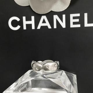 CHANEL - 正規品 シャネル 指輪 SV925 リボン シルバー アルファベット 銀 リング