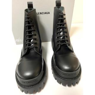Balenciaga - 新品【 Balenciaga 】Strike Leather Boots 41