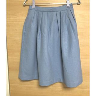 テチチ(Techichi)の⭐️Techichi⭐️ひざ丈スカート フレアスカート 水色(ひざ丈スカート)