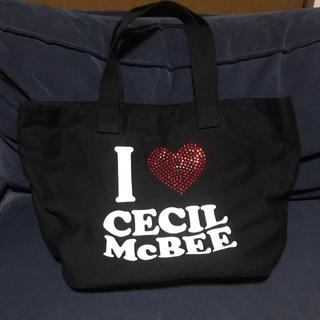 セシルマクビー(CECIL McBEE)のCECIL McBEEトートバック❤️(トートバッグ)