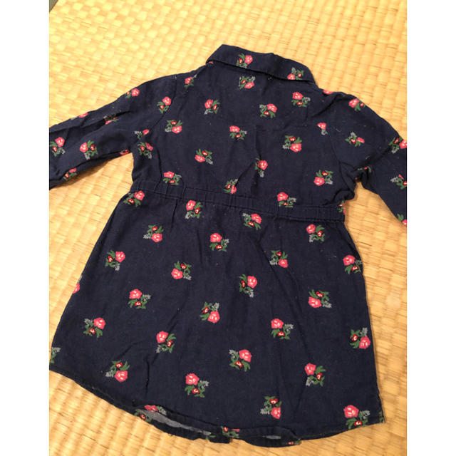 Old Navy(オールドネイビー)のオールドネイビー シャツワンピ キッズ/ベビー/マタニティのベビー服(~85cm)(ワンピース)の商品写真