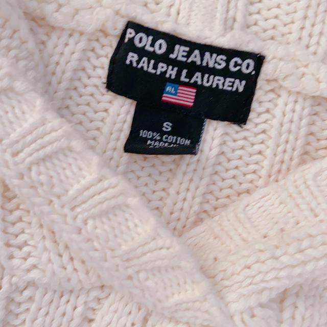 POLO RALPH LAUREN(ポロラルフローレン)のラルフローレン 国旗 ニット レディースのトップス(ニット/セーター)の商品写真
