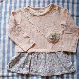 シマムラ(しまむら)の子供服(ワンピース)95センチ(ワンピース)