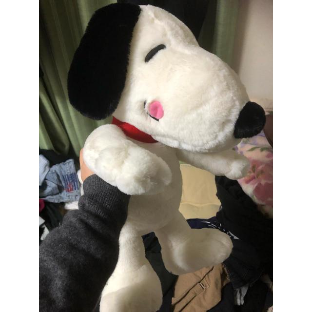 SNOOPY(スヌーピー)のスヌーピー メガジャンボペロリぬいぐるみ エンタメ/ホビーのおもちゃ/ぬいぐるみ(ぬいぐるみ)の商品写真