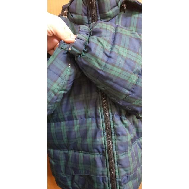 SHIPS(シップス)のSHIPS リバーシブル ダウンジャケット キッズ/ベビー/マタニティのキッズ服男の子用(90cm~)(ジャケット/上着)の商品写真