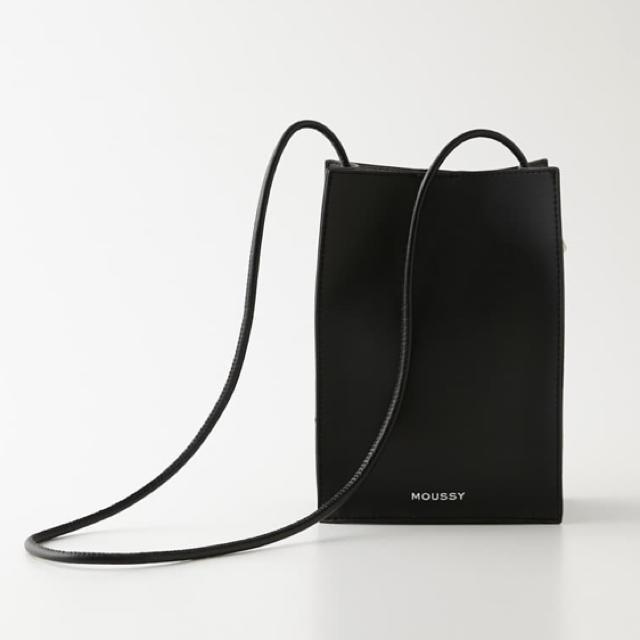 moussy(マウジー)のかんだまさん愛用♡MOUSSY SQUARE POCHETTEスクエアポシェット レディースのバッグ(ショルダーバッグ)の商品写真