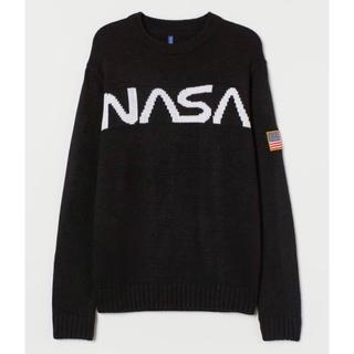 エイチアンドエム(H&M)の【H&M】2020新作&新品 HERON モデル NASA ニットセーター (ニット/セーター)