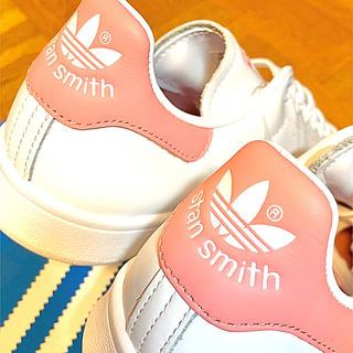 adidas - アディダス スタンスミス STAN SMITH 白 ホワイト ピンク 24cm