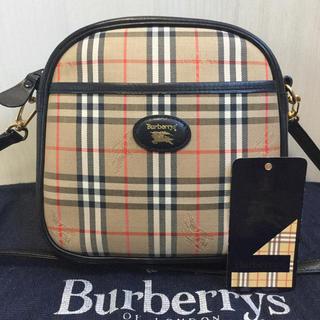BURBERRY - 極美品♡希少デザイン Burberryバーバリー ノバチェック ショルダーバッグ