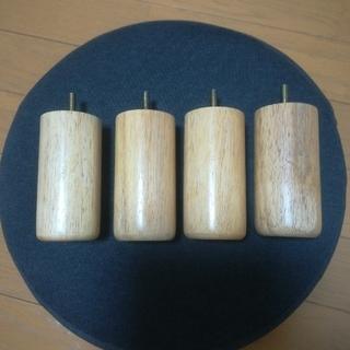 ムジルシリョウヒン(MUJI (無印良品))の無印良品 脚付マットレス用 木製脚12cm(その他)