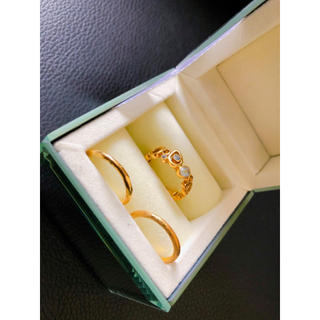 ヨンドシー(4℃)のk18 リング(リング(指輪))