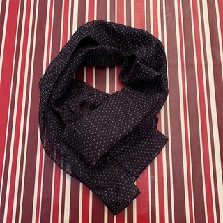 水玉 スカーフ(バンダナ/スカーフ)