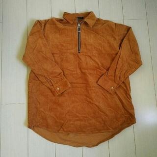 ジーナシス(JEANASIS)のきょん様専用 JEANASIS コーデュロイZIPBIGシャツ(その他)
