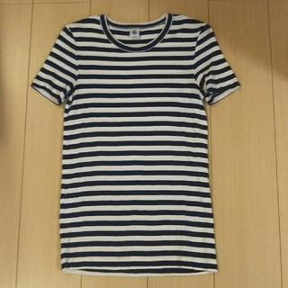プチバトー(PETIT BATEAU)のプチバトー ボーダーT 20ANS/L(Tシャツ(半袖/袖なし))