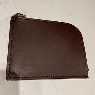 ツチヤカバンセイゾウジョ(土屋鞄製造所)の土屋鞄製造所 ヌメ革Lファスナー(ブラウン)(折り財布)