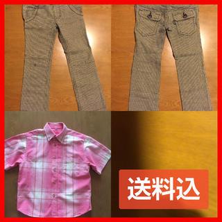サンカンシオン(3can4on)の3can4on  パンツ&シャツ 110 おまとめセット(パンツ/スパッツ)