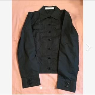 ミュウミュウ(miumiu)のmiumiu ブラック長袖シャツ(シャツ/ブラウス(長袖/七分))