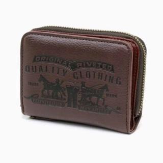 Levi's - 新品タグ付き リーバイス ツーホースエンボスラウンド二つ折り財布 ウォレット