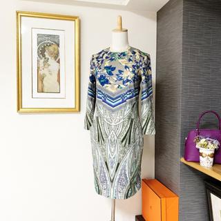 ETRO - 美品 エトロ 花柄 ペイズリー ワンピース ドレス