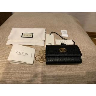 Gucci - 新品未使用 GUCCI   プチ マーモント レザー キーケース
