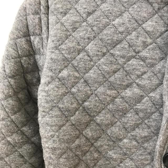 MUJI (無印良品)(ムジルシリョウヒン)のキルティングジャケット 100cm キッズ/ベビー/マタニティのキッズ服女の子用(90cm~)(ジャケット/上着)の商品写真