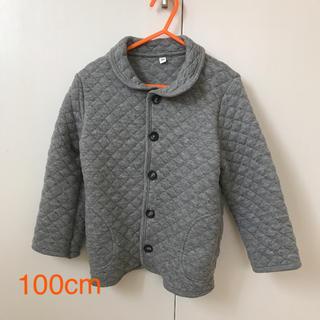 MUJI (無印良品) - キルティングジャケット 100cm