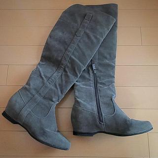 ミラオーウェン(Mila Owen)の美品ミラオーウェン 2wayインソールロングブーツ(ブーツ)