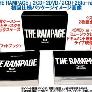 ザランページ(THE RAMPAGE)のTHE RAMPAGE 1stalbum(その他)
