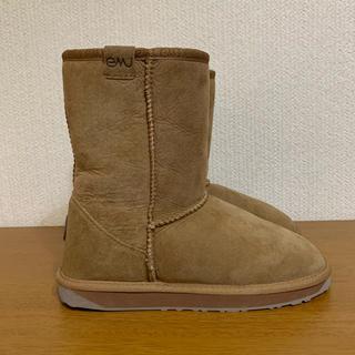 エミュー(EMU)の美品✨emu エミュー✨ STINGER LO  ムートンブーツ✨W8(ブーツ)